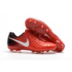 Buty Piłkarskie Nike Tiempo Legend VII FG Czerwony Biały