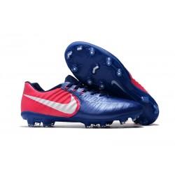 Nike Tiempo Legend 7 FG ACC Korki Pilkarskie - Niebieski Różowy