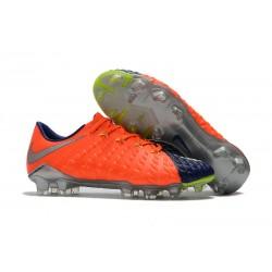 Nike Korki Hypervenom Phantom III FG Pomarańczowy Niebieski