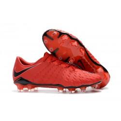 Korki Pilkarskie Nike Hypervenom Phantom 3 FG - Czerwony Czarny