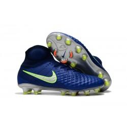 Buty Piłkarskie Nike Magista Obra II Elite Dynamic Fit - Głęboki Błękit