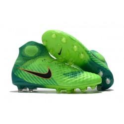 Nike Magista Obra 2 DF FG Korki Pilkarskie - Zielony Czarny