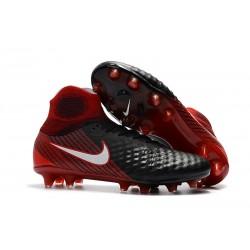 Nike Magista Obra 2 DF FG Korki Pilkarskie - Czarny Czerwony