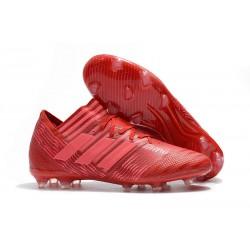 BUTY adidas NEMEZIZ MESSI 17.1 FG - Czerwony Różowy