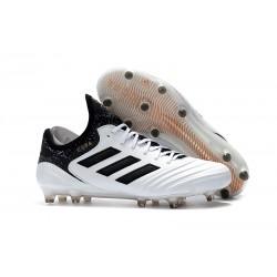 Adidas Buty Piłkarskie Copa 18.1 FG - Biały Czarny