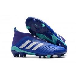 Adidas Buty Korki Predator 18+ FG - Niebieski Biały