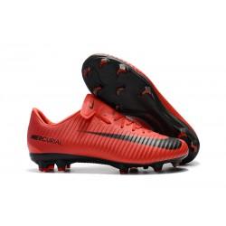 Nike Mercurial Vapor 11 FG Korki Pilkarskie - Czerwony Czarny