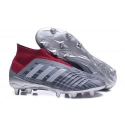 Adidas Buty Korki Predator 18+ FG - Wilczy Czerwony