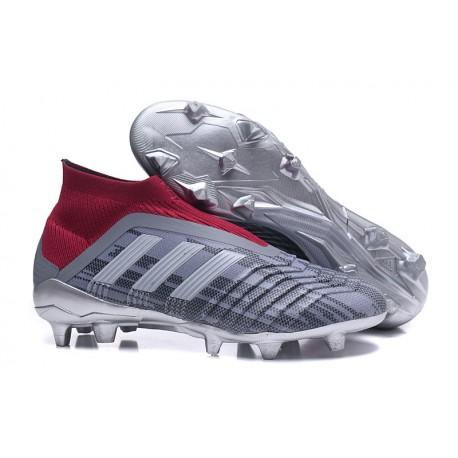 Cena obniżona kup sprzedaż autoryzowana strona Adidas Buty Korki Predator 18+ FG - Wilczy Czerwony