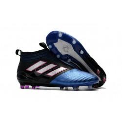 Korki Buty Adidas ACE 17+ PureControl FG - Czarny Niebieski