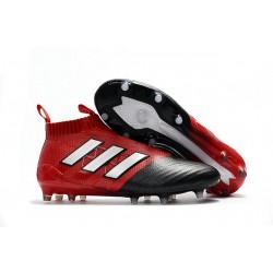 Korki Buty Adidas ACE 17+ PureControl FG - Czarny Czerwony Srebro
