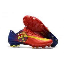 Nike Mercurial Vapor 11 FG Korki Pilkarskie - Barcelona Czerwony
