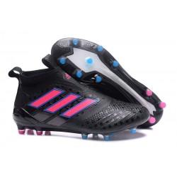 Korki Buty Adidas ACE 17+ PureControl FG - Czarny Różowy