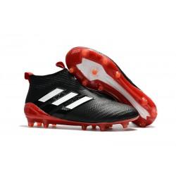 Korki Buty Adidas ACE 17+ PureControl FG - Czarny Czerwony