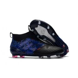 Korki Buty Adidas ACE 17+ PureControl FG - Dragon Czarny Niebieski