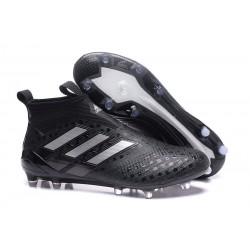 Adidas Buty Piłkarskie ACE 17+ PureControl FG - Czarny Srebro