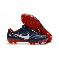 Nike Mercurial Vapor 11 FG Korki Pilkarskie - Cyjan Czerwony