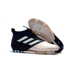 Adidas Buty Piłkarskie ACE 17+ PureControl FG - Kith Czarny Złoto