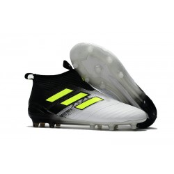 Adidas Buty Piłkarskie ACE 17+ PureControl FG - Czarny Biały Zawistny