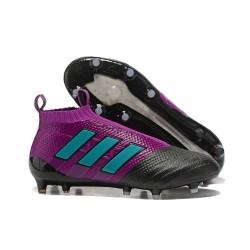 Adidas ACE 17+ PureControl FG Korki Pilkarskie - Fioletowy Czarny
