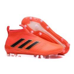 Adidas ACE 17+ PureControl FG Korki Pilkarskie - Pomarańczowy Czarny