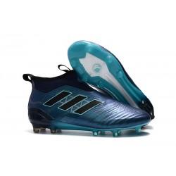Adidas ACE 17+ PureControl FG Korki Pilkarskie - Głęboki Błękit