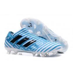 Adidas Nemeziz 17+ 360 Agility FG Buty Piłkarskie - Biały Niebieski