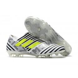 Adidas Nemeziz 17+ 360 Agility FG Buty Piłkarskie - Biały Czarny Zawistny