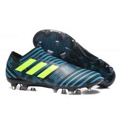 Adidas Nemeziz 17+ 360 Agility FG Buty Piłkarskie - Niebieski Czarny Zawistny