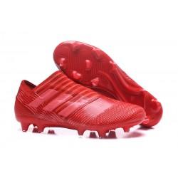 Adidas Korki Pilkarskie Nemeziz Messi 17+ 360 Agility FG - Czerwony