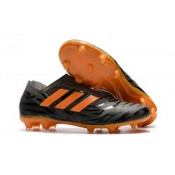 Adidas Korki Pilkarskie Nemeziz Messi 17+ 360 Agility FG - Czarny Pomarańczowy