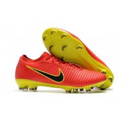Buty Nike Mercurial Vapor Flyknit Ultra FG Czerwony Zawistny