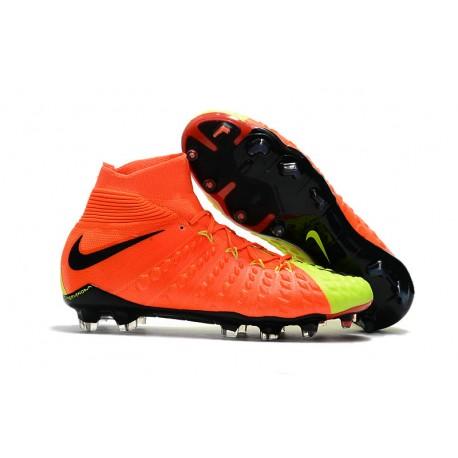 nowy haj buty na codzień autentyczny Nike Korki Hypervenom Phantom III Dynamic Fit FG - Pomarańczowy Zawistny