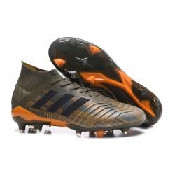 Korki Pilkarskie adidas Predator 18.1 FG - Oliva Zielony Pomarańczowy