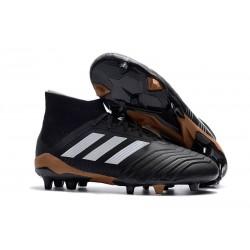 Korki Pilkarskie adidas Predator 18.1 FG - Czarny Biały Złoto