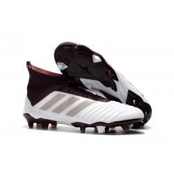 Korki Pilkarskie adidas Predator 18.1 FG - Biały Czarny