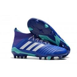 Korki Pilkarskie adidas Predator 18.1 FG - Niebieski Biały
