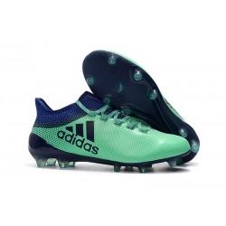 Korki Piłkarskie adidas X 17.1 FG - Zielony Czarny