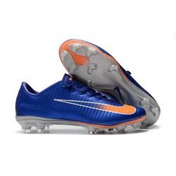 Nike Buty Mercurial Vapor XI FG - Niebieski Pomarańczowy
