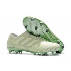 Buty Piłkarskie Adidas Nemeziz Messi 17+ 360 Agility FG - Zielony Biały