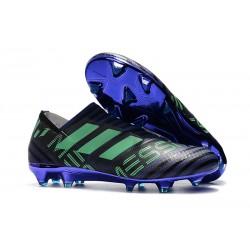 Adidas Korki Pilkarskie Nemeziz Messi 17+ 360 Agility FG - Czarny Zielony Fioletowy
