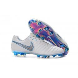 Nike Nowe Buty Tiempo Legend VII FG ACC - Biały Niebieski
