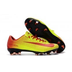 Nike Buty Mercurial Vapor XI FG - Zawistny Czerwony