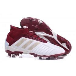 Korki Pilkarskie adidas Predator 18.1 FG - Biały Czerwony