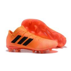 adidas Nemeziz Messi 18.1 FG Korki Pilkarskie - Pomarańczowy Czarny