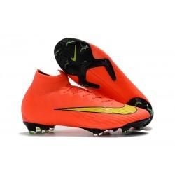 Buty Piłkarskie Nike Mercurial Superfly 6 Elite FG - Pomarańczowy Zawistny