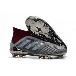 Paul Pogba adidas PP Predator 18+ FG - Szary Hematite
