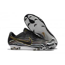 Nike Buty Mercurial Vapor XI FG - Czarny Biały Złoto