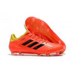 Adidas Buty Piłkarskie Copa 18.1 FG - Pomarańczowy Czarny