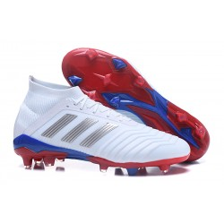 Buty piłkarskie 2018 adidas Predator Telstar 18.1 FG -Biały Srebro
